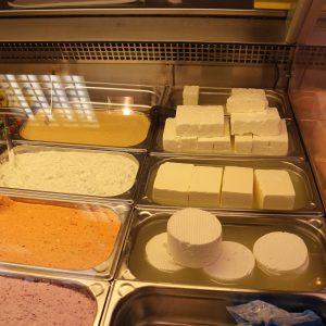 トルコの白チーズとオムレツのレシピ