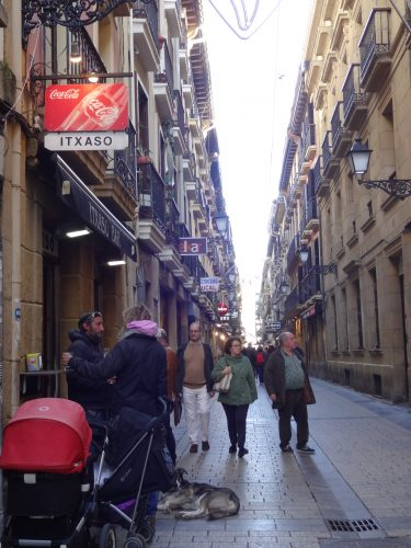 サンセバスチャン旧市街