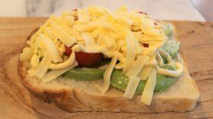 アボカドチーズトーストレシピ